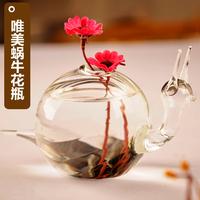 New 2014 Fashion Exquisite Aesthetic Snail vase Flower pots planters Floor vase Wedding decoration vase Gifts crafts Hot selling