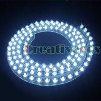 One 120CM 120LEDs PVC 12V Car Truck Waterproof Flexible LED Neon Strip Light DRL Driving Fog Light  White