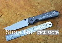 Chris Reeve knife Sebenza 21 Y-start folding knife D2 stainless steel blade stone wash titanium alloy handle