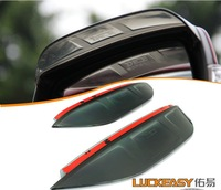 Free ship!Mitsubishi Pajero V97/V93 Re-veiw mirror rain eyebrow cover,2pcs/set(1pcs L+1pcs R)PVC;you car name+year?