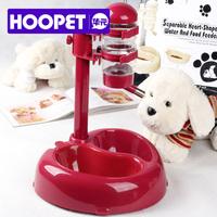 Free Shipping! Senior pet water dispenser water dispenser dog drinking bowl double bowl autodrinker pet supplies