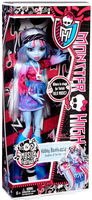 Free Shipping original monster high dolls/monster hight Abbey Bominable Doll Music Festival NEW Mattel/Dolls For Girls