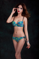 2014 free shipping Female big cup Sexy swimwear beach Bikini swimsuit for DEF cup whole sale