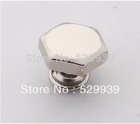 Wholesale 15*3.8mm hexagon head studs for punk bags hardware,zinc alloy rivets accessories,free ship