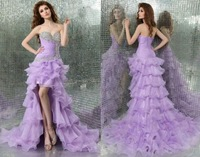 2014 New Long Sweetheart Mermaid Split Evening  Prom Ball Dresses