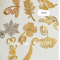Delicate, mini metallic bookmark