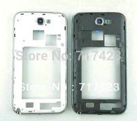 Genuine Samsung Note2 N7100 N7108 mobile phone shell casing in silver plate lid border N7105