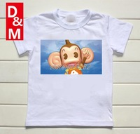 Cotton short sleeve children t shirts, cute cartoon t-shirt,anime cartoon game boys girls t-shirt kids wear sonie animal friend