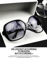 B152013 fashion vintage sunglasses box big circular frame sunglasses anti-uv glasses  wholesale