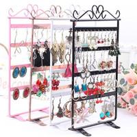 Brief 48 earring rack stud earring jewelry holder display rack accessories plaid pavans display rack storage
