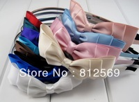 hot sale  mixed color for your pick, C48 Colorful Lady headbands, Red Pink BLue Girl headbands, Student Woman hair accessory,
