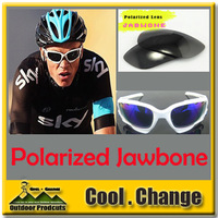 New Polarized  4 Pairs Lens Jawbone Cycling Bicycle Bike Outdoor Sports Sun Glasses Eyewear Sunglasses Free Shipping