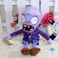 Allhallowmas Plants Vs Zombies purple Zombie Plush Toy SIZE 27CM