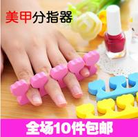 7991 sub-toe nail art tools sponge finger device 120pcs/lot