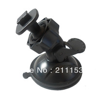2014 New Single Buckle Car Window Suction Mount for C600 Car DVR Driving Recorder C600 Camera Bracket Black Suction Holder