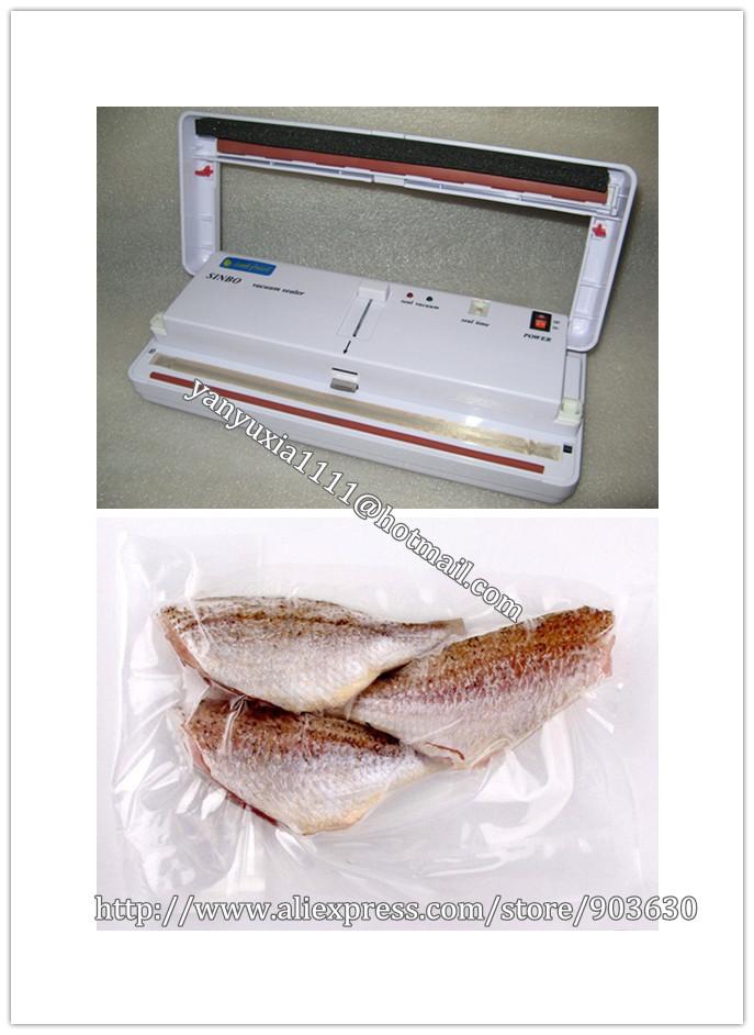 220V or 110V New SINBO DZ-280 Household Food Vacuum Plastic Bag Sealer Sealing Machine Packing Machine(China (Mainland))