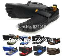 hot sale 5 fingers men women toe hiking shoes magic button outdoor climbing shoe sports Runner jogger sneakers 7326D