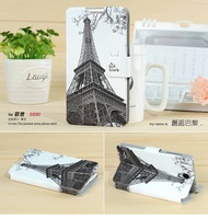 Lenovo S890 Case Cover Printed Painting Flip Leather Case For Lenovo S890 Painted Printing Phone Accessories