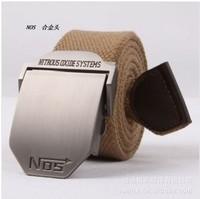 Factory Direct Fashion NOS Men's Men Thick Canvas Belt Casual Outdoor Canvas Belts Unisex Students Braided Belt Leather Belts