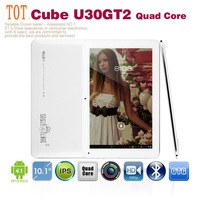 Cube U30GT Quad Core 10.1 inch Android Tablet PC RK3188 1.6GHz 2GB 32GB HDMI Bluetooth 5.0MP Dual Camera