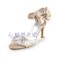 MZ427 wholesale free shipping customize high-heeled sandals fashion plus size champagne evening women pumps