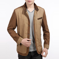 Seven men's clothing 2014 jacket outerwear jacket male spring and autumn thin casual
