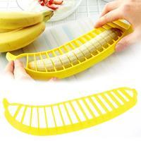 1 pcs Banana Slicer Chopper Cutter for Fruit Salad Sundaes Cereal Kitchen Tools