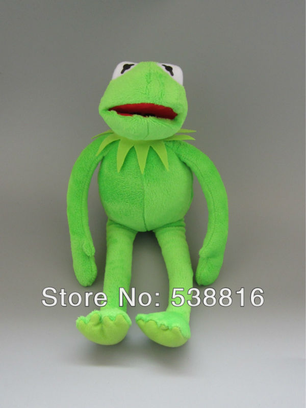 Big Size Sesame street 2004 the muppets muppet puppet show toy frog Plush Toys Dropshipping(China (Mainland))
