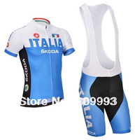 The Newest 2014 CB14012  Summer Riding Jersey(Top)/Bib Short(Bottom)/Sport Clothes Made From High Quality Polyester