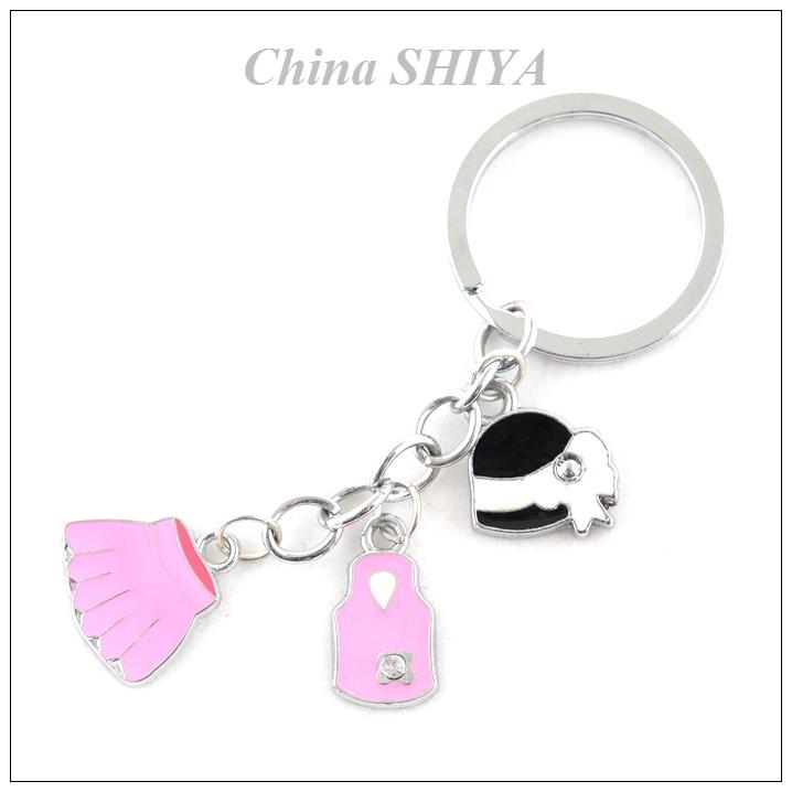 Girly Keychains Cute Girly Girl Keychain