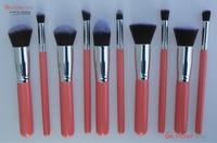 Free Shipping 10pcs Professional Cosmetic Makeup Brushes Set Foundation Brush Eyeshadow brush
