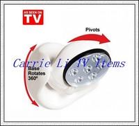 Free Shipping 300pcs/lot LED Light Angel As Seen On TV Cordless Light Base Rotates 360