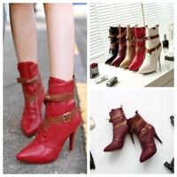 Free Shipping,Black Faux Suede Mesh #988 High Heel Rhinestone Peep Toe Womens/Ladies Sandals,US 4-8.5