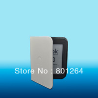 Leather Case Cover For Nook simple touch 2nd/3g/New nook glowlight Reader 400pcs/lot
