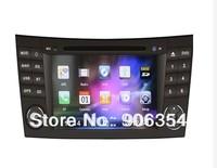 Car head units 2din car radio audio gps 3g phonebook for Mercedes Benz E-Class W211 2002 - 2008