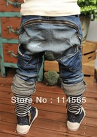 Free shipping!O!! Hot sale New arrive Baby Kids Clothing Children's pants Boy's Harem Pants PP jeans child pants trousers