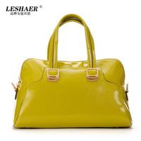 free shipping 2014 Fashion shiny women's crocodile/CROCO pattern handbag for women casual shoulder bag dinner bag messenger bag