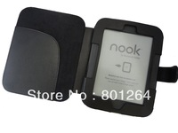 Nook cover Case For Barnes & Noble Nook 3G simple touch with glowlight black in stock 100pcs/lot