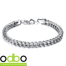 Free Shipping 2014 NEW Hot Sale Fashion jewelry Simple Fine chic Men/Women 316L stainless steel Bracelets unisex Ornaments DT672