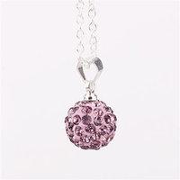 Fashion Jewelry Shamballa Necklace New Tresor Paris Allure CZ Disco Ball Bead lyea izaa