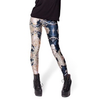 New 2014 Women Sexy Galaxy Leggins Digital Print Pants Fitness Leggings Drop Ship