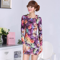2014 spring doll small slim waist one-piece dress small cheongsam