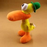 Free Shipping Pocoyo Zinkia  22CM Pato Small Plush Dolls Boys Toy Best Gift Doll