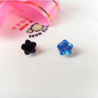 Free Shipping Zircon magnet stud earring female no pierced magnet stud earring magnet magnetic stud earring