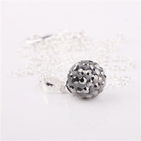 Fashion Jewelry Shamballa Necklace New Tresor Paris Allure CZ Disco Ball Bead dnqq vonv