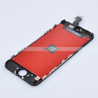 100% Test Original LCD Touch Screen Digitizer Assembly for iPhone 5C by DHL,Black Color 10pcs/Lot