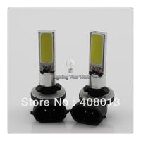 Car High Power 20W 881 H11 H4 H7 Super Bright Led Automotive Light COB Fog Light Led Headlight Bulb Lamp DC12V  Xenon White