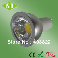wholesaler 450lm 220v cob dimmable warm white gu10 5w led lamp
