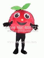 apple mascot costume Fruit mascota free shipping