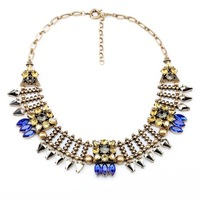 Fashion fashion accessories vintage drop all-match necklace